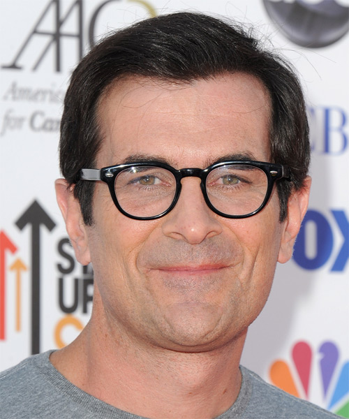 Ty Burrell Short Straight Formal   Hairstyle   - Black