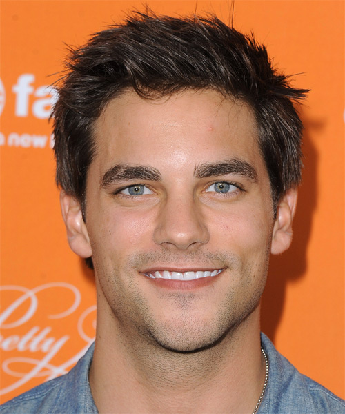 Brant Daugherty Short Straight Casual   Hairstyle   - Medium Brunette