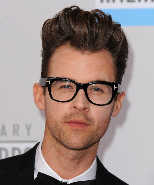 Brad Goreski Short Straight Formal    Hairstyle   - Medium Brunette Hair Color
