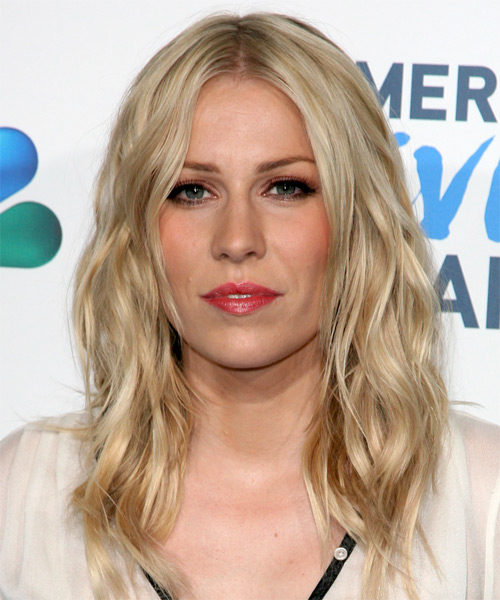 Natasha Bedingfield Long Wavy Casual   Hairstyle   - Light Blonde