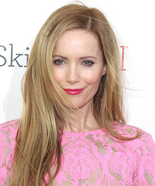Leslie Mann Long Straight Casual   Hairstyle