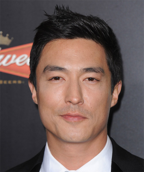 Daniel Henney Short Straight   Black    Hairstyle