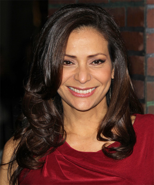 Constance Marie Long Wavy Formal   Hairstyle   - Dark Brunette (Mocha)