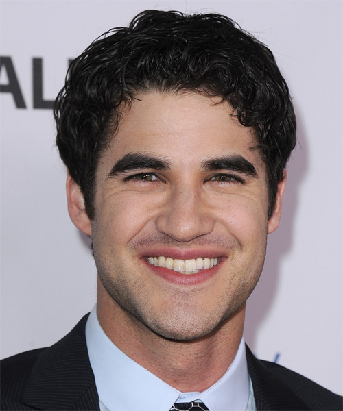 Darren Criss Short Curly Casual   Hairstyle