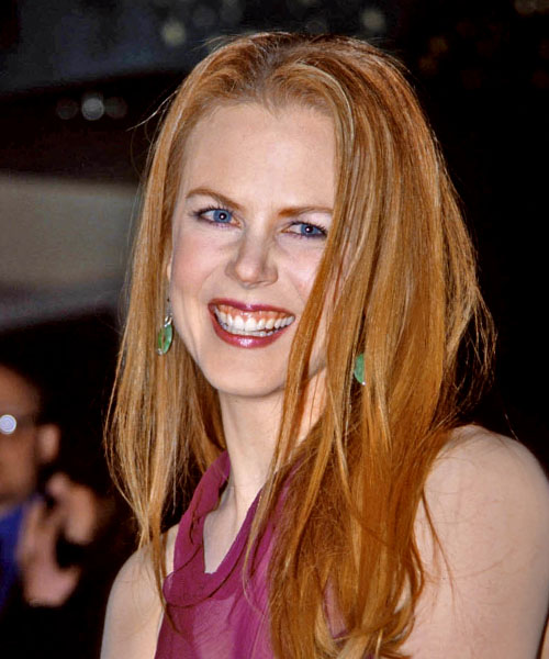 Nicole Kidman Long Straight Formal   Hairstyle