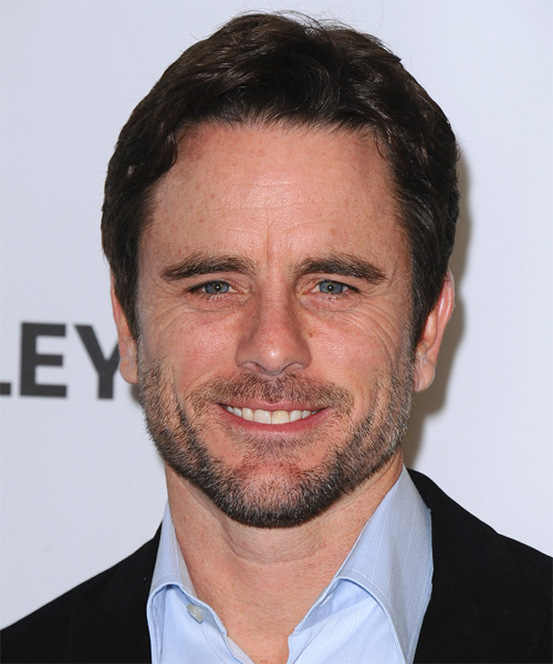 Charles Esten Short Straight Casual   Hairstyle