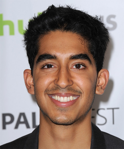 Dev Patel Short Straight Casual   Hairstyle
