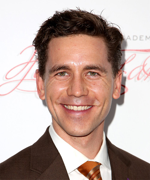 Brian Dietzen Short Straight Casual   Hairstyle