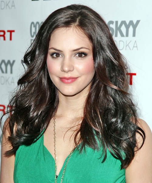hair styles for occasions katharine mcphee wavy casual hairstyle 7067