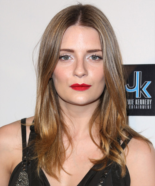Mischa Barton Long Straight Casual   Hairstyle