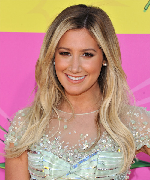 Ashley Tisdale Long Straight Casual   Hairstyle