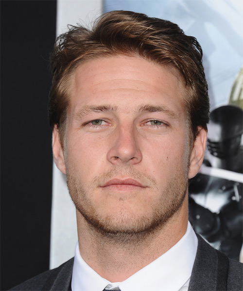 Luke Bracey Short Straight Formal   Hairstyle