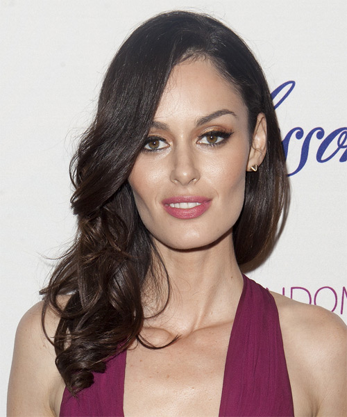 Nicole Trunfio Long Wavy Formal   Hairstyle