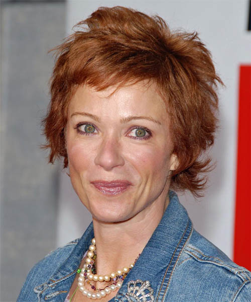 Lauren Holly Short Straight Casual    Hairstyle