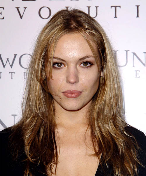 Agnes Bruckner Long Straight Casual   Hairstyle