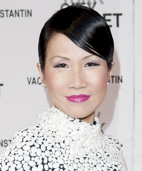 Chiu Ti Jansen Short Straight Formal   Hairstyle   - Black