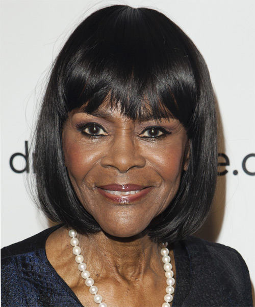 Cicely Tyson Medium Straight Formal   Hairstyle