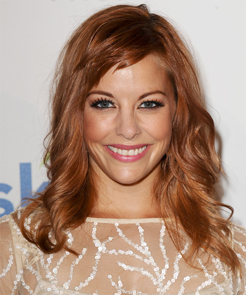 Amy Paffrath Long Wavy Casual   Hairstyle