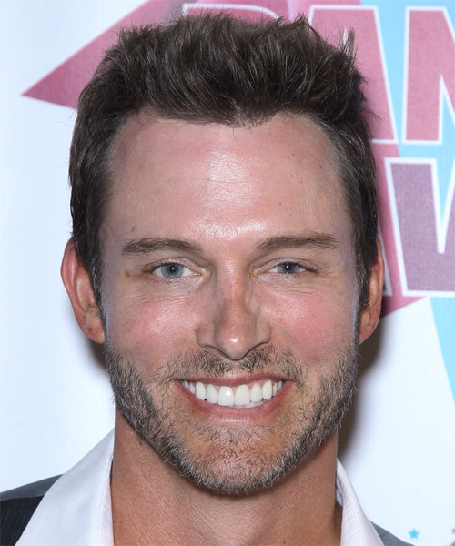 Eric Martsolf Short Straight Casual   Hairstyle