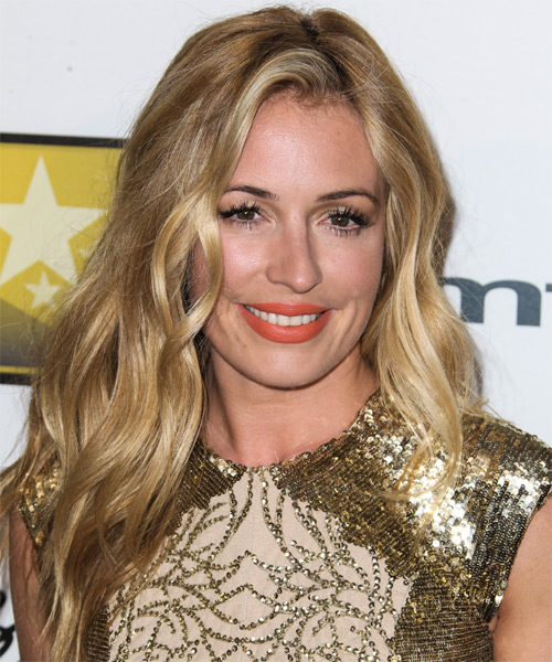 Cat Deeley Long Straight Casual   Hairstyle
