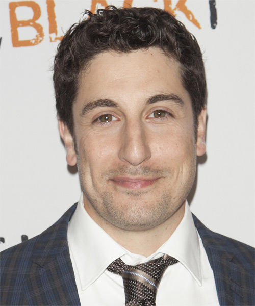 Jason Biggs Short Curly Casual   Hairstyle