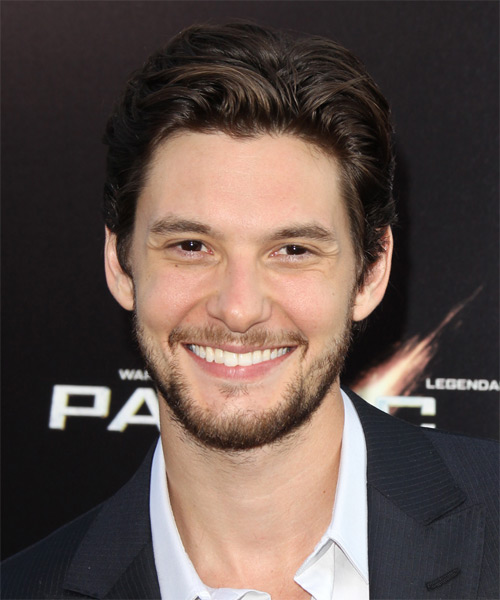 Ben Barnes Short Straight Casual   Hairstyle