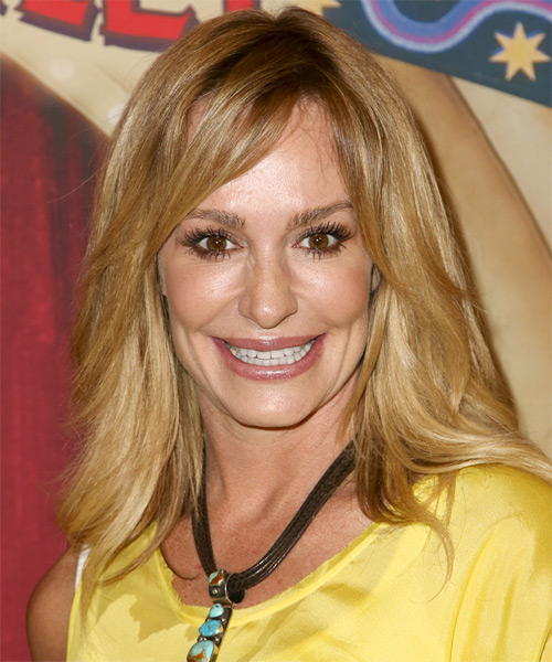 Taylor Armstrong Medium Straight Casual   Hairstyle