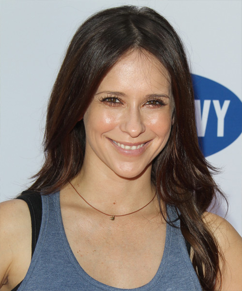 Jennifer Love Hewitt Long Straight Casual Hairstyle