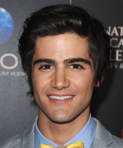Max Ehrich Short Straight Formal   Hairstyle
