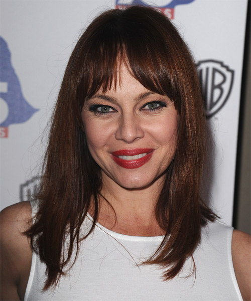 Melinda Clarke Medium Straight Hairstyle