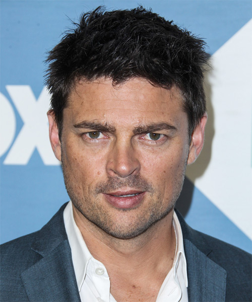 Karl Urban Short Straight Casual   Hairstyle