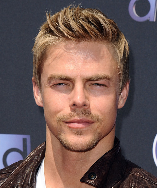 Derek Hough Short Straight Casual   Hairstyle
