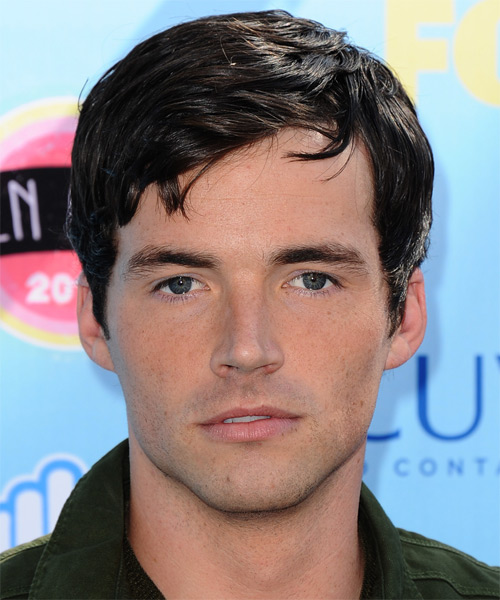 Ian Harding Short Straight Casual   Hairstyle