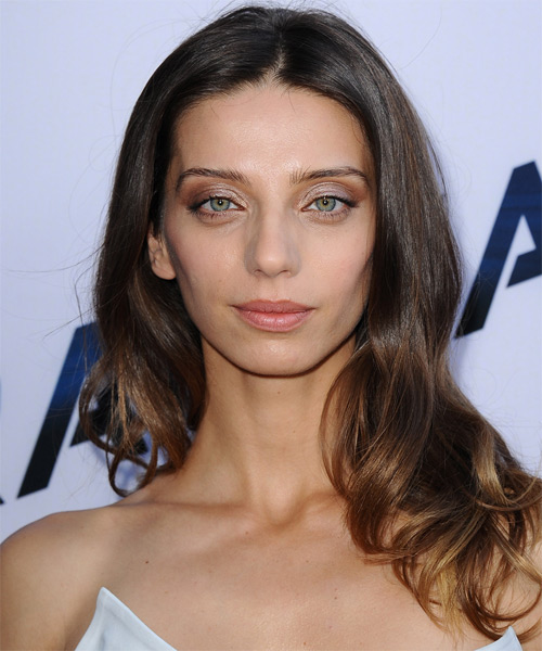 Angela Sarafyan Long Straight Casual   Hairstyle