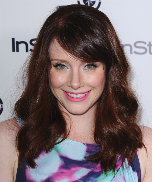 Bryce Dallas Howard Long Wavy Casual   Hairstyle