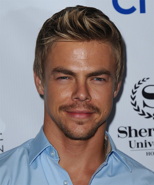 Derek Hough Short Straight Casual   Hairstyle   - Light Brunette