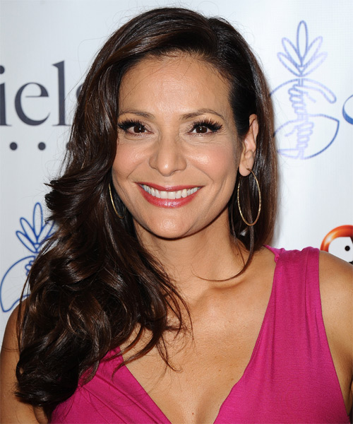 Constance Marie Long Wavy Formal   Hairstyle