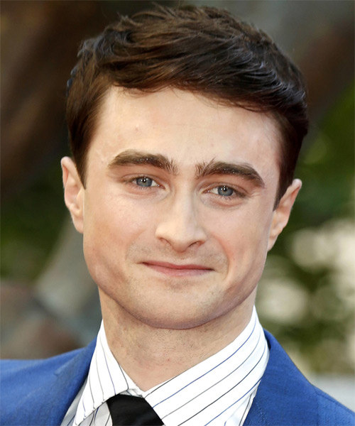 Daniel Radcliffe Short Straight Formal   Hairstyle