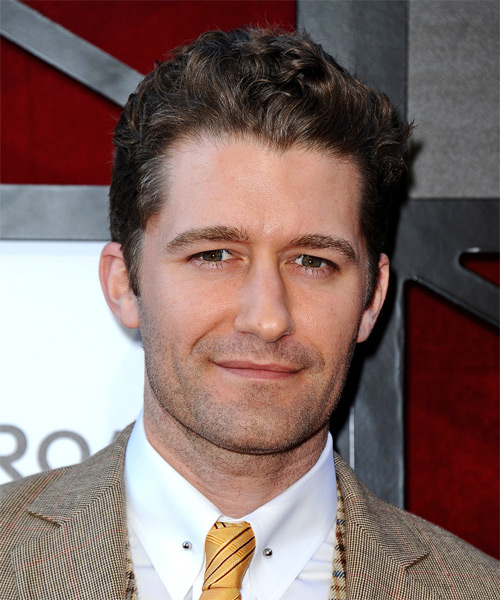 Matthew Morrison Short Wavy Casual   Hairstyle