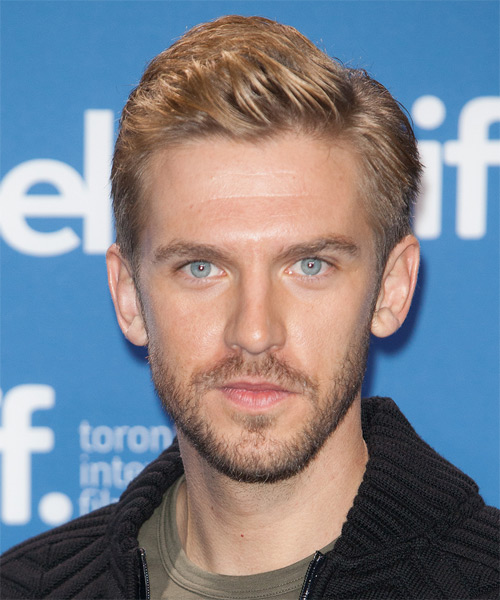 Dan Stevens Short Straight Formal   Hairstyle