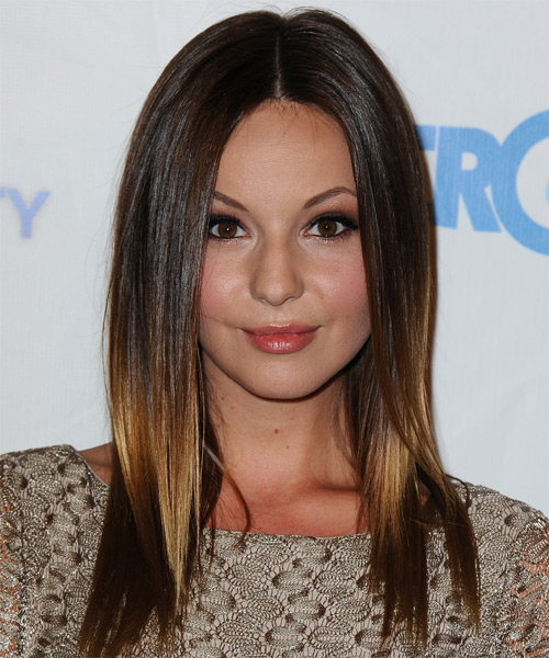 Samantha Droke Long Straight Casual   Hairstyle