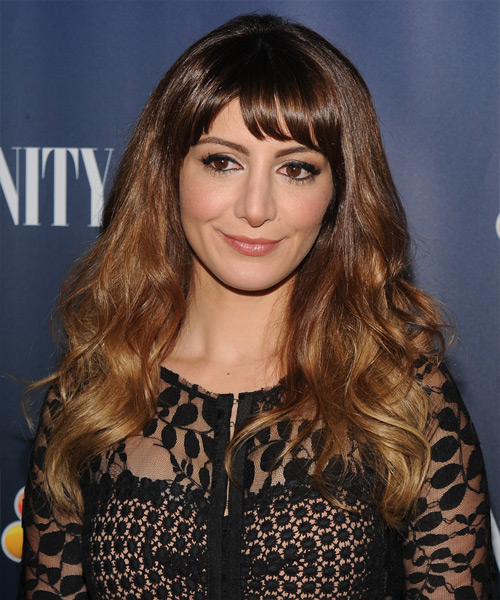 Nasim Pedrad Long Wavy Casual   Hairstyle