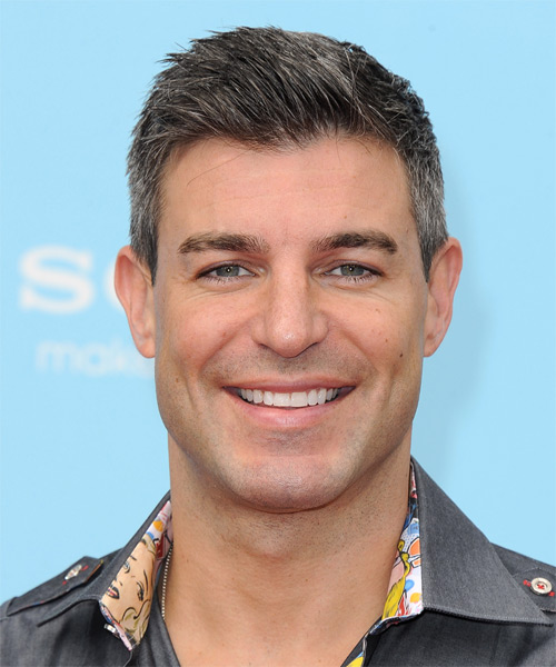 Jeff Schroeder Short Straight Casual   Hairstyle