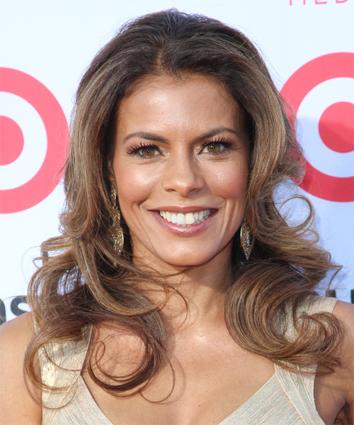 Lisa Vidal Long Wavy Formal   Hairstyle