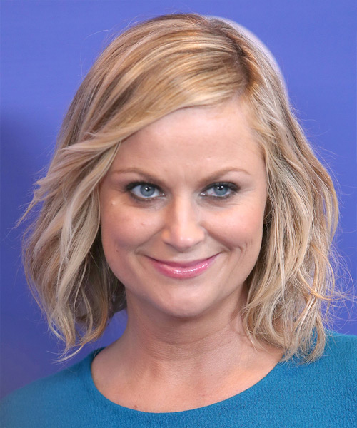Amy Poehler Medium Straight Casual   Hairstyle