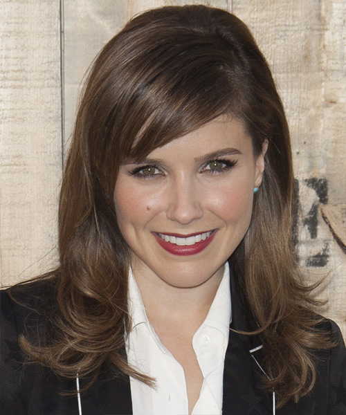 Sophia Bush Long Straight Formal    Hairstyle