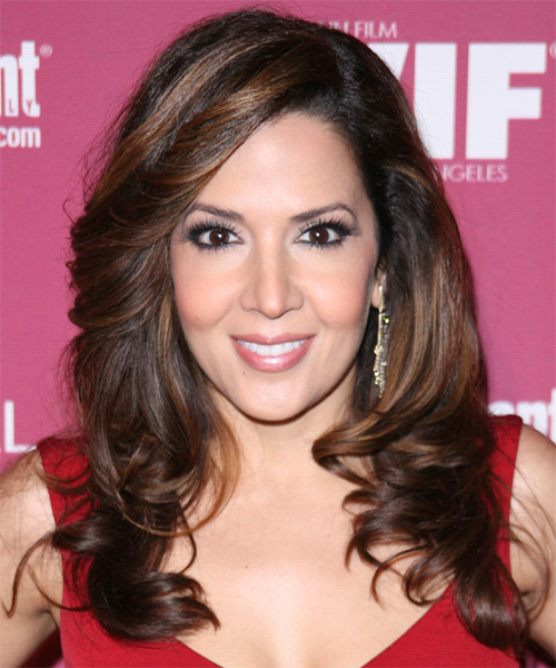 Maria Canals Berrera Long Wavy Formal   Hairstyle
