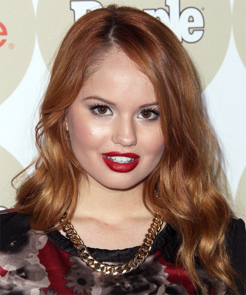 Debby Ryan Long Wavy Casual   Hairstyle