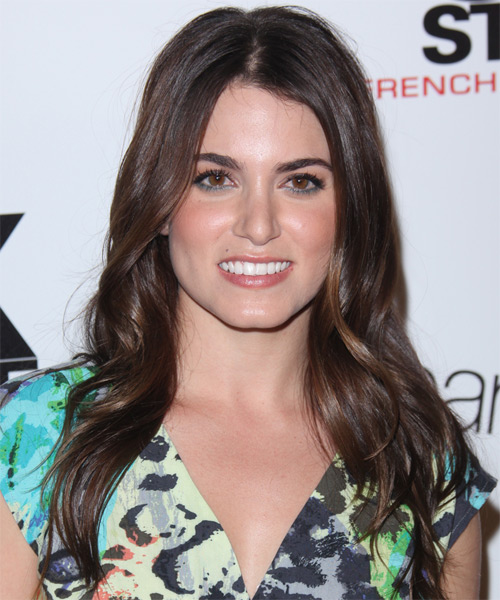 Nikki Reed Long Straight Casual   Hairstyle