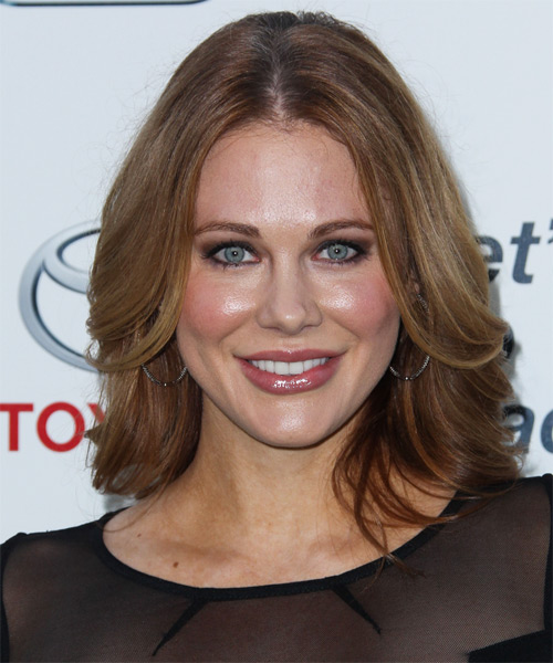 Maitland Ward Medium Straight Formal   Hairstyle